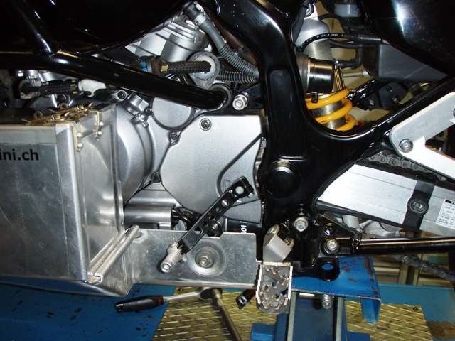 Motorschutz links